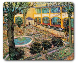 Vincent Van Gogh - The Courtyard Of The Hospital In Arles, 1889