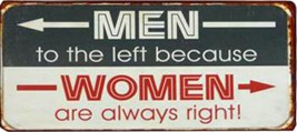 Femmes - Men To The Left Because Women Are Always Right