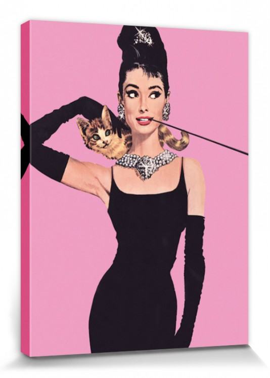 audrey hepburn pop art poster leinwand druck 80x60cm 67151. Black Bedroom Furniture Sets. Home Design Ideas