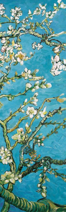 vincent van gogh mandelbl te selbstklebende poster tapete 250x79cm 50797 ebay. Black Bedroom Furniture Sets. Home Design Ideas